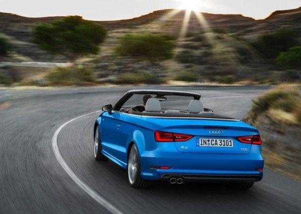 2014 Audi A3 Cabriolet Blue 600x428 2014 Audi A3 Cabriolet