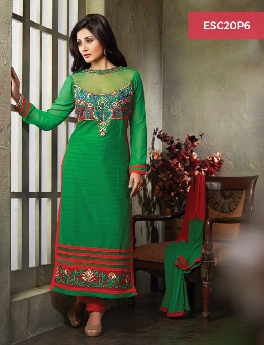 Monday Dhamaka Deal!! Ultimate Rimi Sen Green Red Cotton Suit for just Rs 1399/- Shop now @ http://www.enasasta.com/deal/rimi-sen-green-red-suit Call or Whatsapp @08288886065