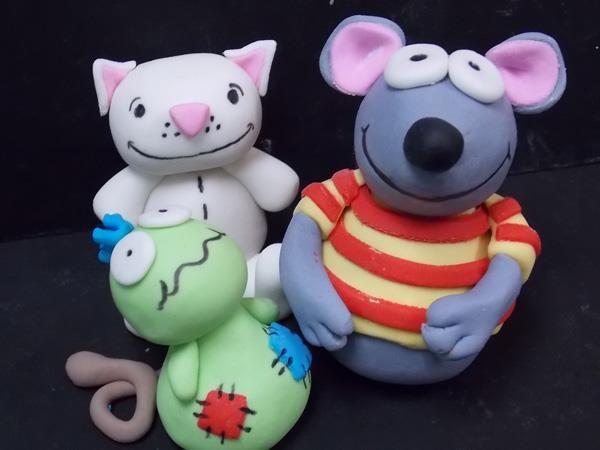 Toopy & Binoo Cupcake Toppers