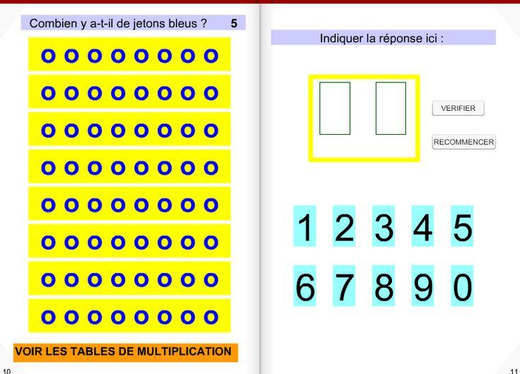 221 best math matiques c2 c3 images on pinterest king for Apprendre la multiplication ce1