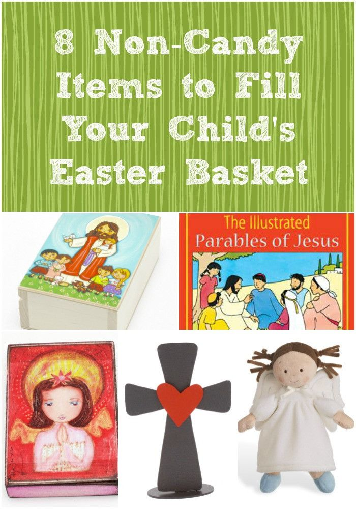 28 best first communion gifts images on pinterest first communion 8 non candy items to fill your childs easter basket negle Choice Image