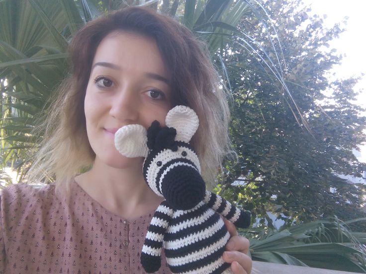 amigurumi, örgü oyuncak, pattern, crochet, tığişi, zebra