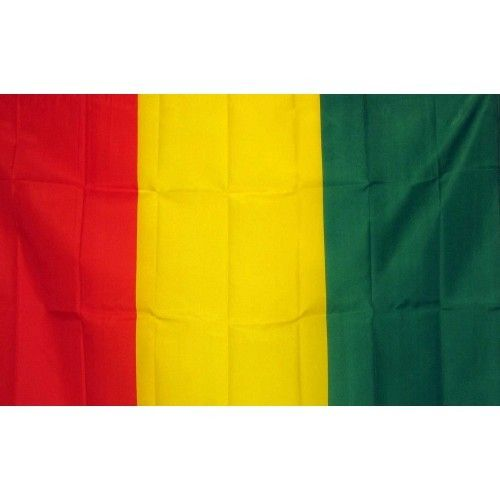 Guinea Country Traditional Flag