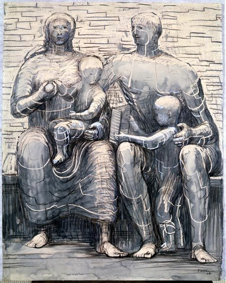 henry moore mother and child - Google Search