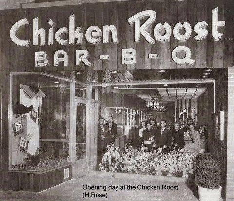 Memories from growing up in Hamilton...the Chicken Roost Chicken on a Bun.