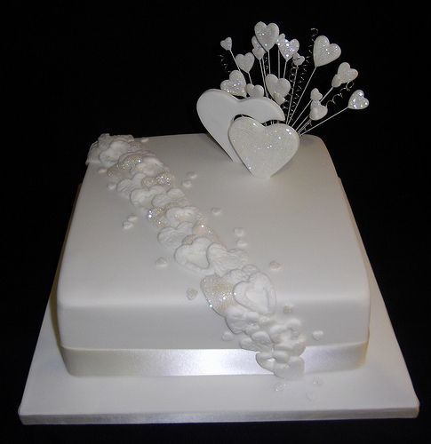silver wedding cakes single tier 25 best ideas about single tier cake on one 19892