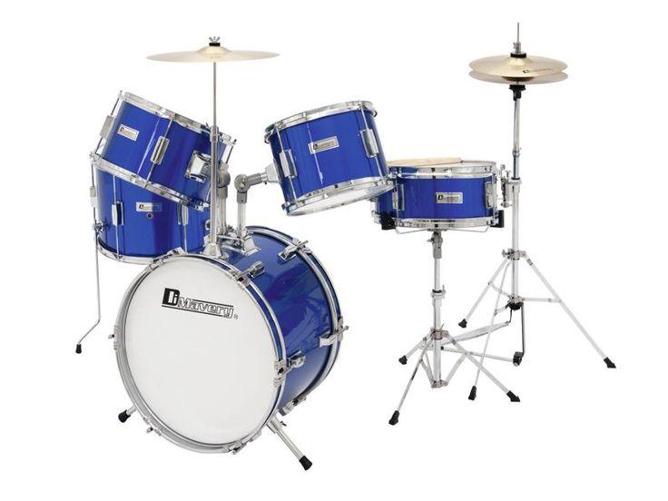 Dziecięcy zestaw perkusyjny Dimavery JDS-305 Blue   Instrumenty muzyczne \ Instrumenty perkusyjne \ Perkusje akustyczne PREZENTY \ Dla Dziecka   Sprzet-Dyskotekowy.pl - największy i najtańszy sklep internetowy z oświetleniem i nagłośnieniem w Polsce
