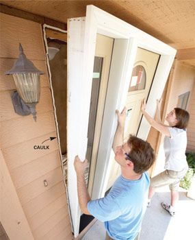 How to Install an Entry Door #door #install #diy #home-improvement #front-door #handyman