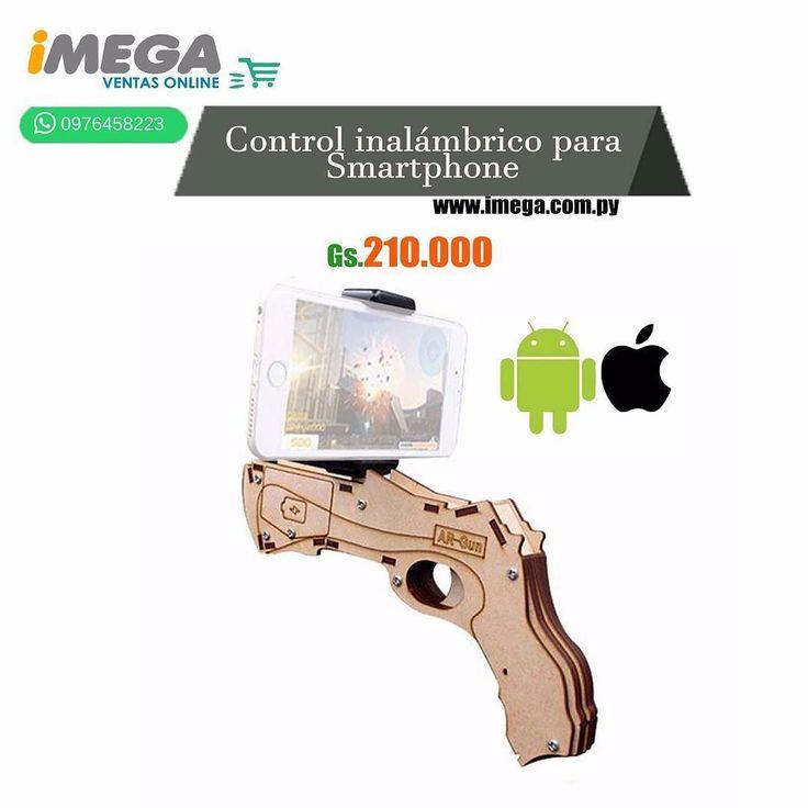 El Control de Juego modelo DZ-823 de AR Game Gun fue desarrollado para hacer los juegos más divertidos e inmersivos. Permite convertir el smartphone compatible en fuente de entretenimiento y aventura. Funciona con pilas AA y viene con Bluetooth integrado. #celular #accesorios #juegos #bluetooth #inalámbrico #diversion #Joystick #calidad #original #android #iOs #AR Game Gun #TiendaOnLine #Imegapy  Visítanos en nuestra página web www.imega.com.py  Gs. 210.000