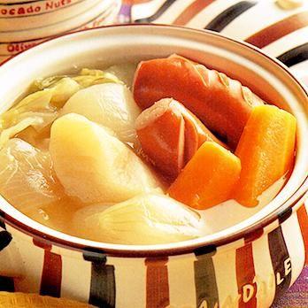 ソーセージ入りポトフ | 藤野嘉子さんのシチューの料理レシピ | プロの簡単料理レシピはレタスクラブニュース
