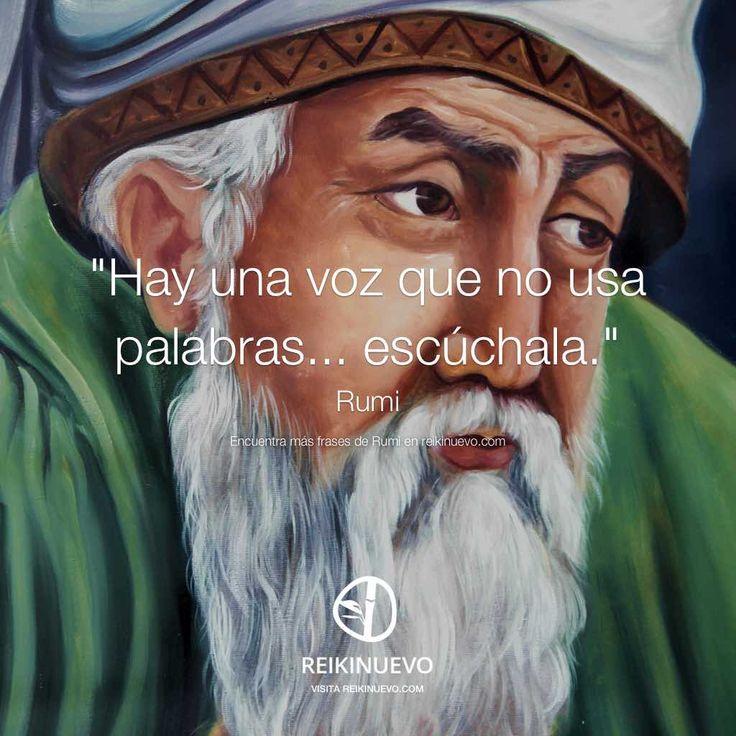 Rumi: Hay una voz… http://reikinuevo.com/rumi-hay-una-voz/