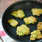 Get kids to eat more veggie with Zucchini Pancakes from ChopChop Magazine