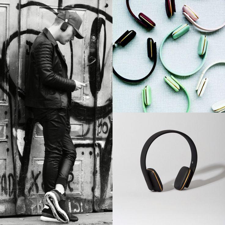 Adios cables - nos encantan los auriculares bluetooth #ahead #kreafunk #adioscables - varios colores disponibles en www.shopnordico.com #shopnordico