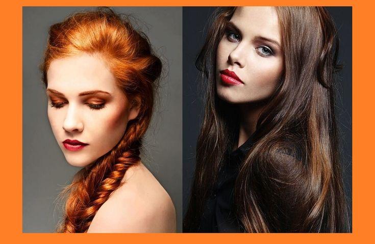Εντυπωσιακά μακιγιάζ για Καστανές και Κοκκινομάλλες!
