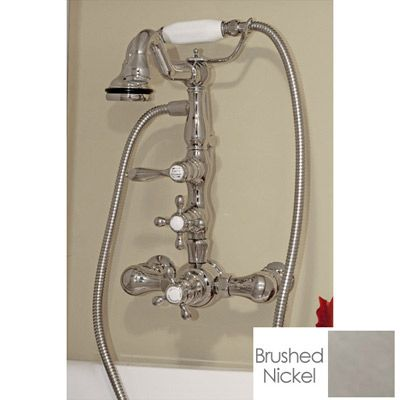 Clawfoot Tub Faucet Bathroom Wall Mount Victorian Spout With