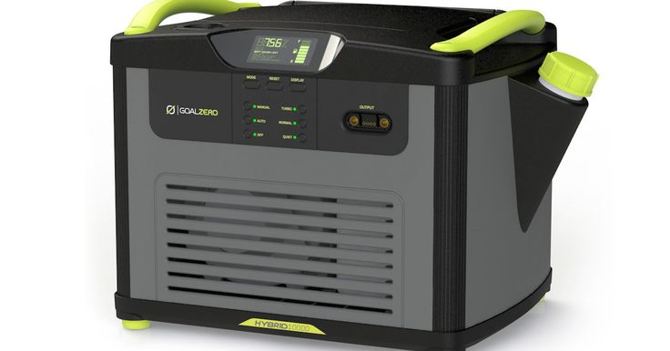 Goal Zero announces gas generator and new solar panels  In addition… Visit solarpowercee.com for the latest solar products.