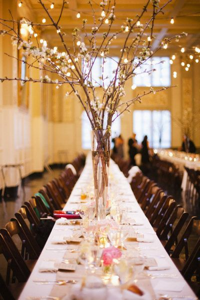 Pussy Willow Centerpieces 76