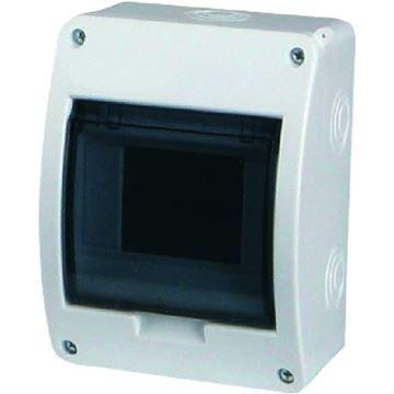 Tablou electric Eaton, 5 module, montaj aparent, grad protectie IP40, BC-O-1/5-ECO