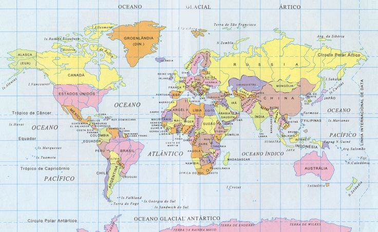 O Mapa Mundi – a mentira a que já nos habituamos!