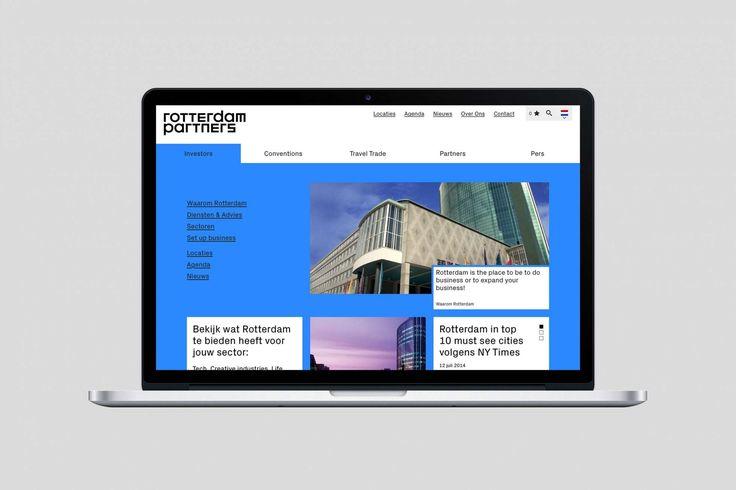 Studio Dumbar: Rotterdam Partners Visual Identity & Strategic Positioning