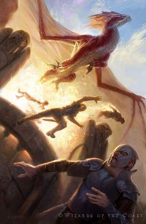 Dragon of Despair - Todd Lockwood