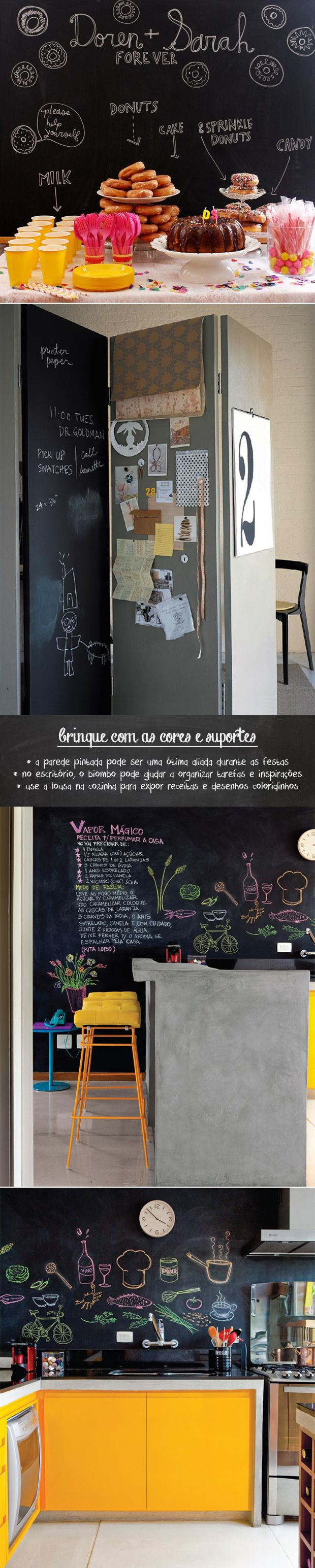 Retractable wall and blackboard paint