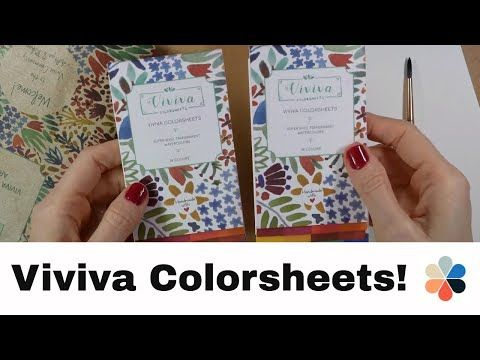 Viviva Colorsheets Review - YouTube