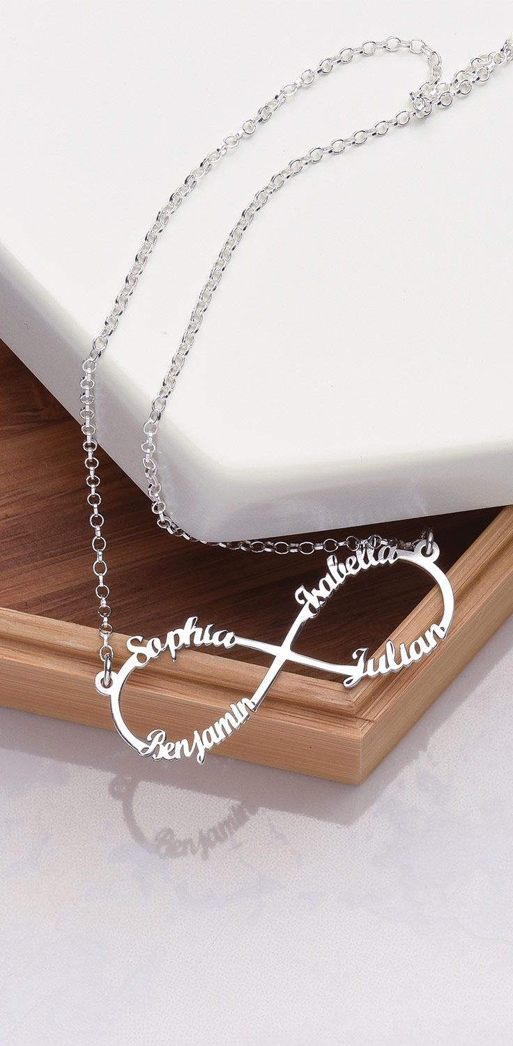 inches sign com jewelry pendant infinity necklace amazon dp sterling silver