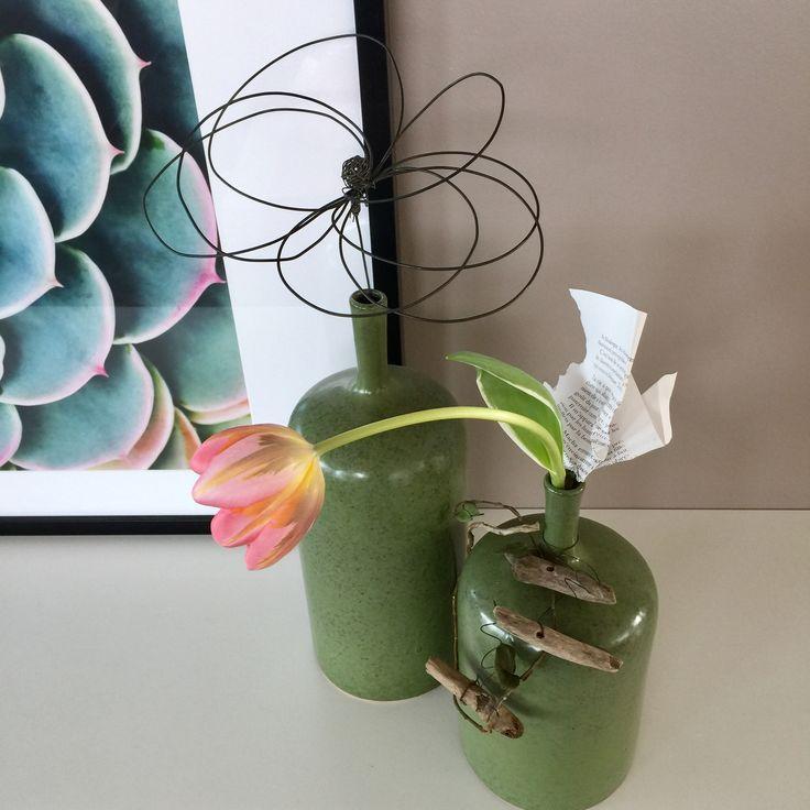 DIY - Fleurs en fil de fer