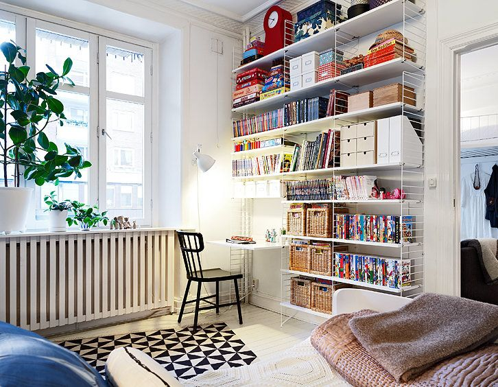 Glorious Small Apartment with Inspiring Loft Spaces Pictures