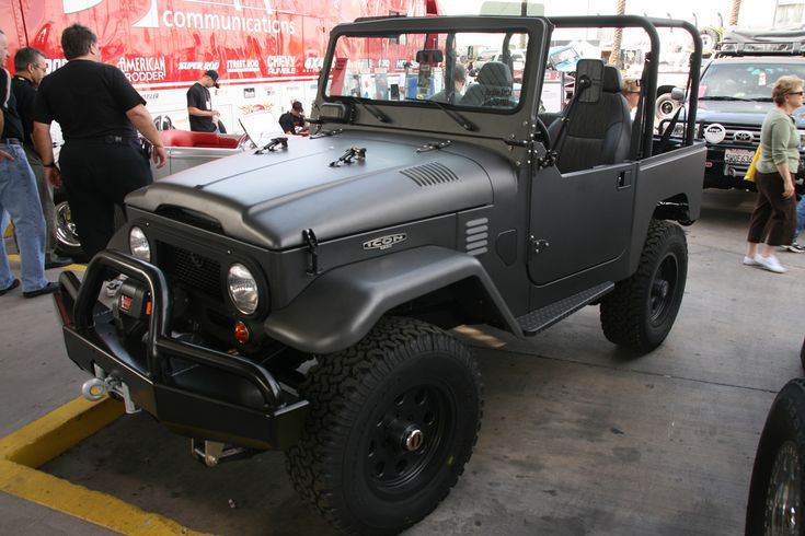 "https://flic.kr/p/4rAryv | TLC Icon FJ40 | <a href=""http://www.tlcicon.com"" rel=""nofollow"">TLC</a> Icon FJ40 seen at the SEMA show.  This one is for sale for $113,000 USD"