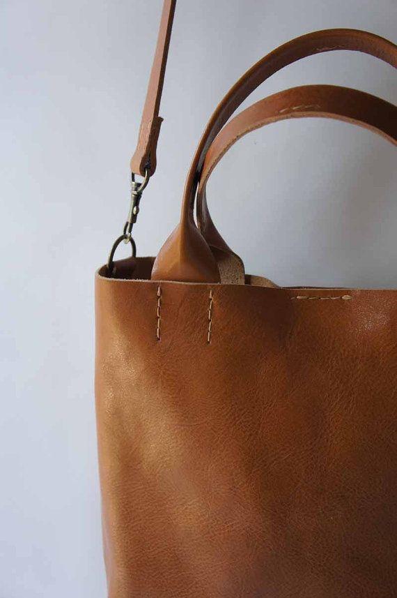 The Stella Bag - Italian Leather - Cognac