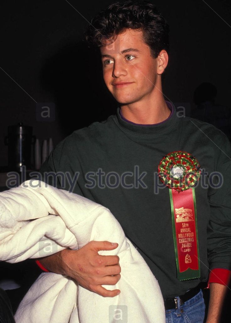 Kirk Cameron in 1989.