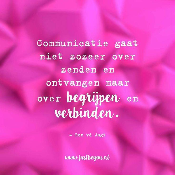 Begrijpen en verbinden....zeer belangrijk.....L.Loe
