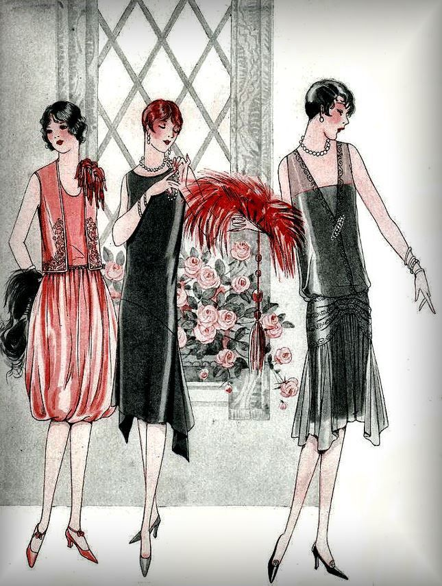 From Deco To Atom 1920s Fashion Vintage Deco