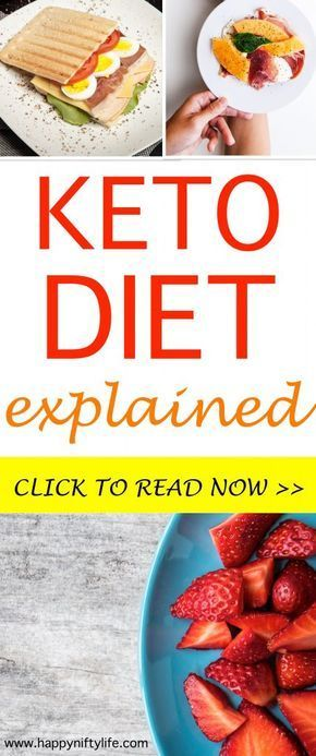 Ketogenic diet explained for beginners. You might have seen the before and after…