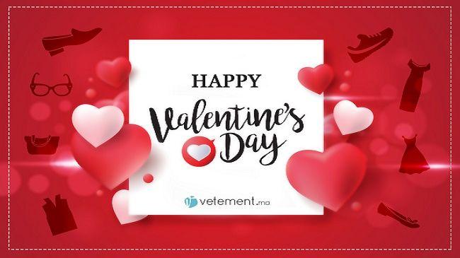 بمناسبة #عيد_الحب متجرنا كايشارك الحب و التقدير لكل الزبناء ديالوا www.vetement.ma