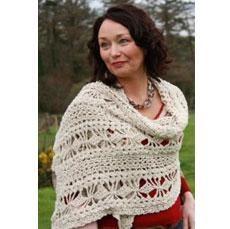 Women's Hand Crocheted Stole