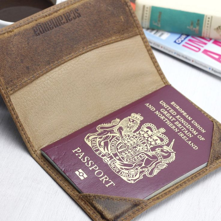 Father's Day Gifts | Leather Passport Cover