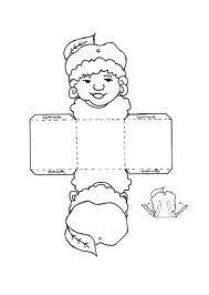 Printable Zwarte Pieten doosje.