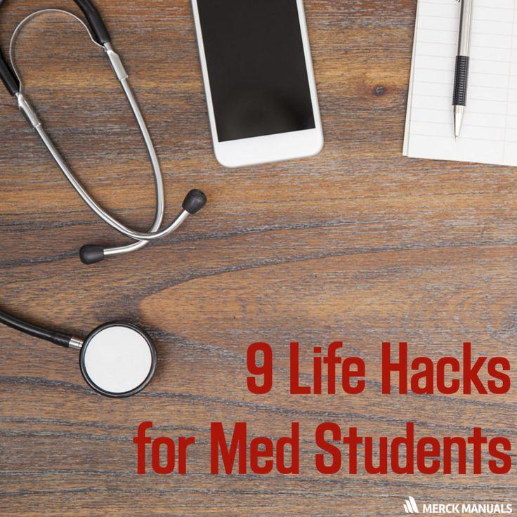 9 Life Hacks for Med Students