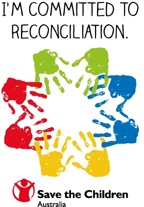 Save the Children Australia is committed to closing the gap for Aboriginal and Torres Strait Islander children and families. As a supporter, during National Reconciliation Week, show your support by sharing this image or making it your profile photo.