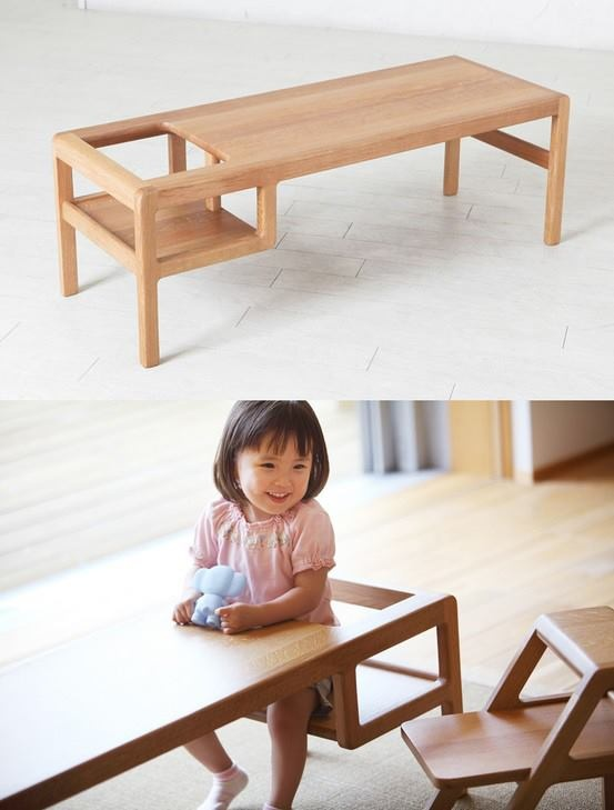 Interesting Idea   Kidu0027s Low Chair / Table By Toa Ringyo