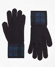 Black Watch Tartan Gloves