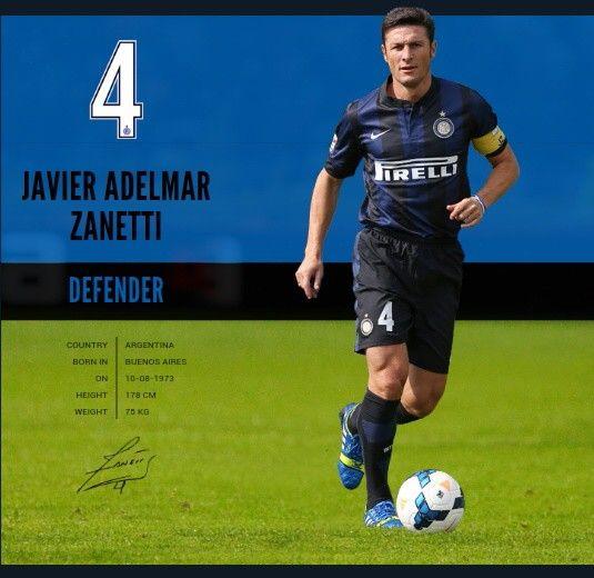 J. Zanetti, Inter Milan, 2013-14