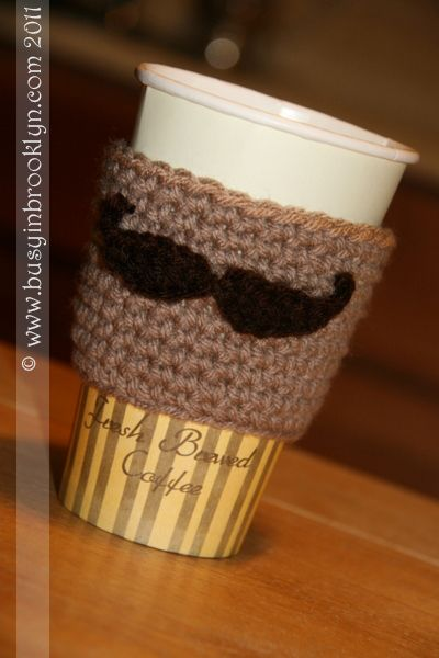 Kosher Recipes – Busy in Brooklyn » Blog Archive » Cutest Crocheted Coffee Cup Cozy!