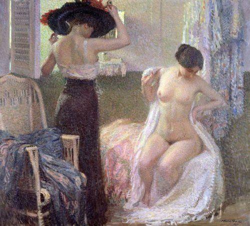 Arturo Noci, Nella cabina, 1911