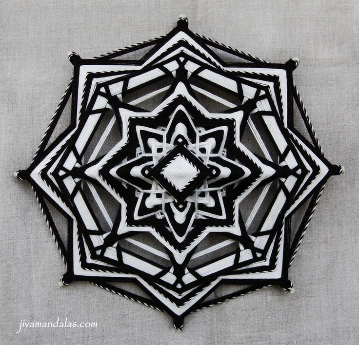 "Mandala ""Darkness reveals Light"""