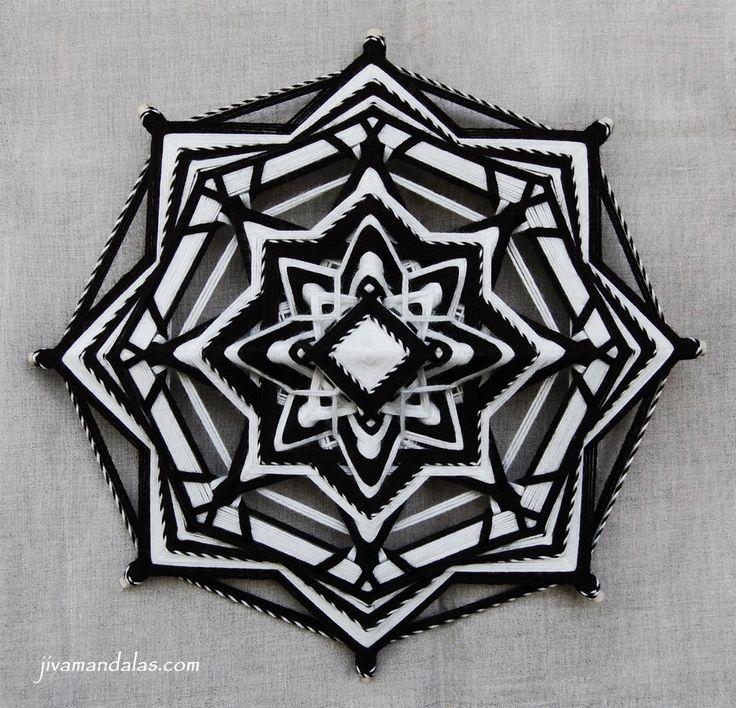 "Mandala ""Darkness reveals Light"""