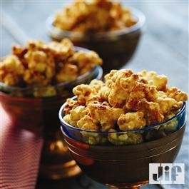 Peanut Butter Glazed Popcorn from Jif®